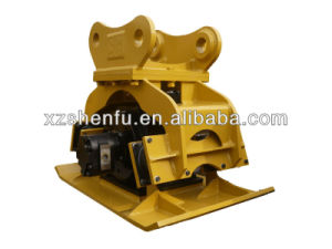 China Made Hight Quality Excavator Compactor Plate Fit for Sk210 pictures & photos