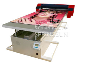 Springsun UV LED Flatbed Printer (UV12025) with Epson Print Head White Ink