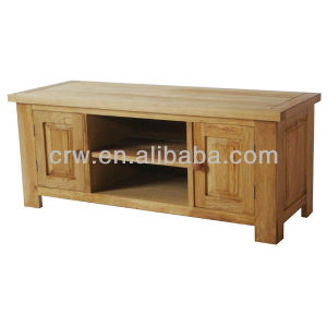 OA-4065 Solid Oak Wooden TV Cabinet pictures & photos