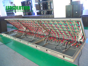 Front Service LED Display Screen (LS-O-P12-CF) pictures & photos