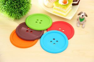Popularly Durable Anti Slip Silicone Cup Mat pictures & photos