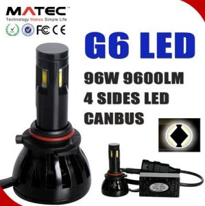 Popular G6 Car LED Headlight Conversion for Auto 5202 H4 H7 H11 9005/6 9004/7 pictures & photos
