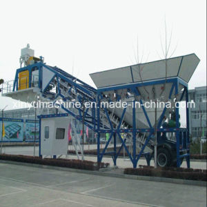 Yhzs75 Hauling Mobile Concrete Mixing/Batching Plant pictures & photos