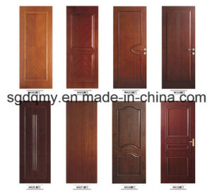 Newest Product Melamine Moulded Interior Door with Frame pictures & photos
