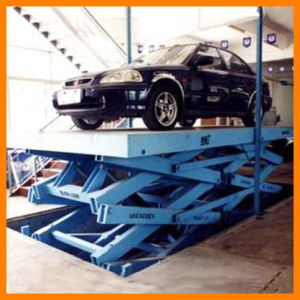 Scissor Type Hydraulic Parking Lift (S-VRC) pictures & photos