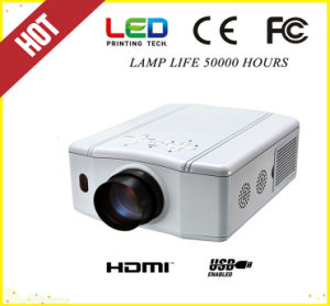 1800lm Mini Portable 12V DC Power HDMI, USB LED Projector (SV-856) pictures & photos