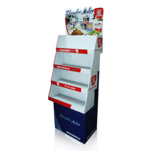 Tower Display Cases, Floor Display Shelf for Big Sales, Cardboard Display Standing pictures & photos