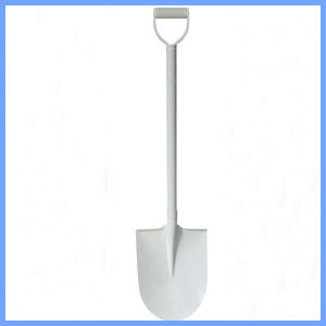 White Painted Garden Steel Spades Shovels for Africa Market pictures & photos