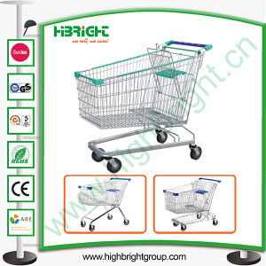 100L Zinc Shopping Trolley with Lower Bottom pictures & photos