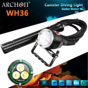 Archon Wh36 CREE Xm-L U2 LED Canister Diving Headlight Max 3000 Lumens pictures & photos