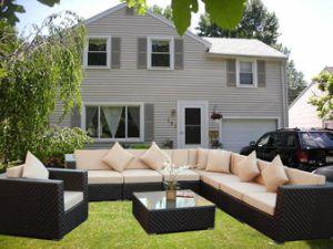 2015 Modern Garden Paito Rattan Wicker Outdoor Furniture pictures & photos