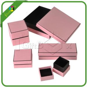 Custom Printed Paper Cardboard Jewelry / Gift Packaging Jewellery Box for Packing pictures & photos