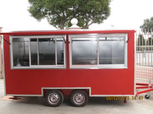 Mobile Fast Food Carts (FC-MF400) pictures & photos