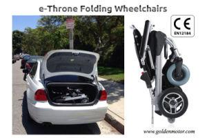 E-Throne Portable/Foldable E-Wheelchairs pictures & photos