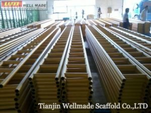 Q345 Steel Scaffold System Ladder Beam pictures & photos