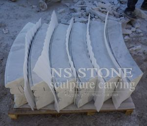 2.8m Pool Small Two Tier Fountain in White Marble for Garden Mf-064 pictures & photos