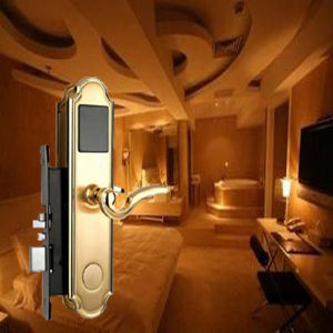 China Supplier Hotel Lock Door Lock Door Handle Lock pictures & photos