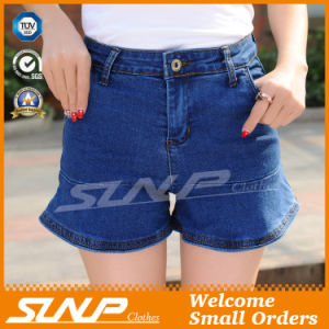 High Waisted Women Jean Cotton Shorts Clothes