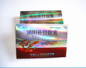 Gold Foil Paper Printing Sex Pill Packaging Box pictures & photos