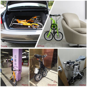 18 Inch Mini City Electric Bike Quick Folding Electric Bicycle pictures & photos