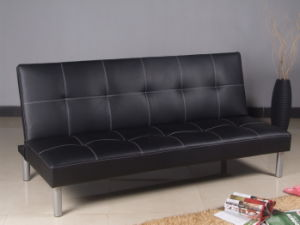 Simple Black Sofa Bed Design pictures & photos
