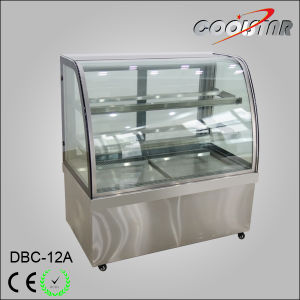 Stainless Steel Cake Refrigerating Showcase for Bakery Store pictures & photos
