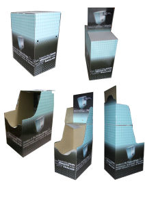 Eco-Friendly Paper Cardboard Display with Cmyk Printing, Customised Cardboard Display pictures & photos
