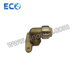 Brass Seat Elbow Push Fitting Quick Connector pictures & photos
