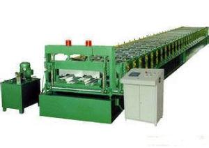 Hydraulic Cutting Floor Deck Panel Roll Forming Machine