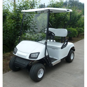 White Color 2 Seater Electric Car (JD-GE501A) pictures & photos