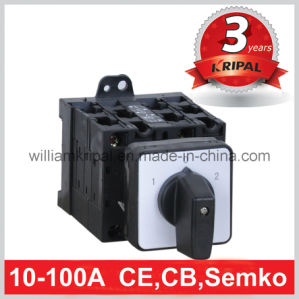 32A 4p Rotary Selector Switch pictures & photos