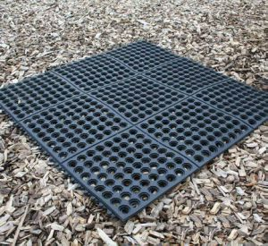 Interlocking Outdoor Swimming Pool Rubber Hole Floor Flooring Matting pictures & photos