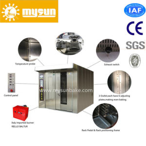 Mysun Commercial Stainless Steel Rotary Oven Bakery Equipment with CE pictures & photos