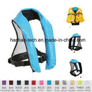 Inflatable Wet Suit Lifejacket for Fishing in The Sea (HT327) pictures & photos