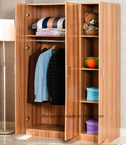 Simple Wood Modern Assembling Wardrobe pictures & photos
