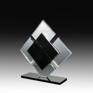 New Arrival Customized Design Popular Crystal Glass Trophy Award Medal for Souvenir Gifts pictures & photos