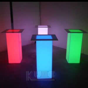 LED Pillar Table Mood Light Deco with Color Changing LED pictures & photos
