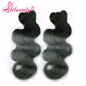 Cheap Weave Online Selling Soft Colored Ombre Malaysian Hair pictures & photos