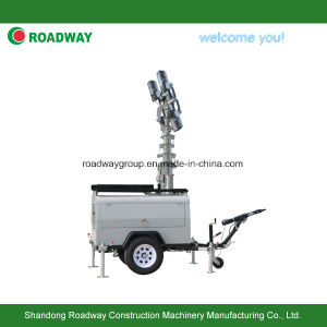 Trailer Light Tower with Hydraulic Mast pictures & photos