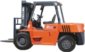 H2000 Series 6/8/10t Inside Container Operation Forklift Trucks pictures & photos