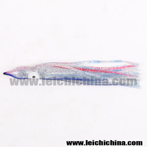 Chinese High Quality Luminous Soft Octopus Squid Skirt Fishing Lures pictures & photos