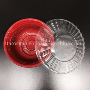 Plastic Disposable Box Used in Microwave Oven Made in China pictures & photos