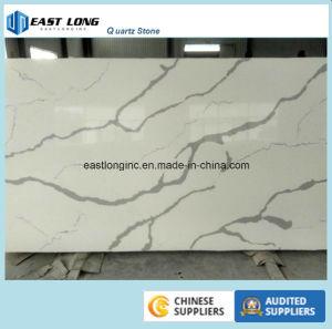 Calacatta White Quartz Stone Slab/ Countertop pictures & photos