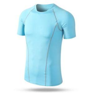 Honorapparel Anti-Bacterial Customized Logo Printing No Color Limit Fashion Short Sleeve Running Shirt
