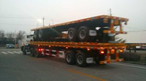 Lufeng 40FT Container Semitrailer for Hot Sale pictures & photos