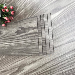 Waterproof Vinyl Plank Flooring Plastic Wood Grain Plastic Flooring pictures & photos