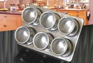 Spice Rack with Magnetic Jars (SEE0302) pictures & photos