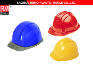 Plastic Headpiece Safety Helmet Mould pictures & photos