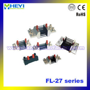 Fl-27 Series Class 0.2 High Accuracy Shunt Resistor DC Current Resistance 5-4000 a pictures & photos