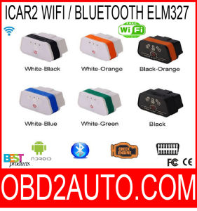 Vgate 327 Icar2 Bluetooth OBD Scanner Icar 2 Elm327 Bluetooth/WiFi Diagnostic Interface